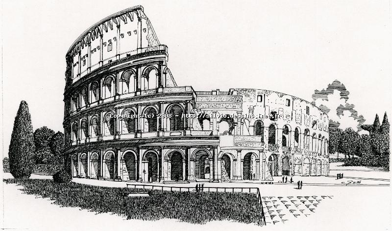 Les dessins de silvio for Disegni della roma da colorare